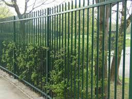 Bar steel fencing